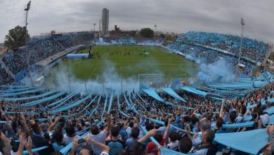 Hinchada de Belgrano