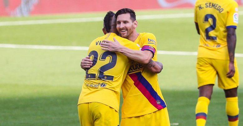 Barcelona Gano Y No Le Pierde Pisada Al Real Madrid Canal Showsport