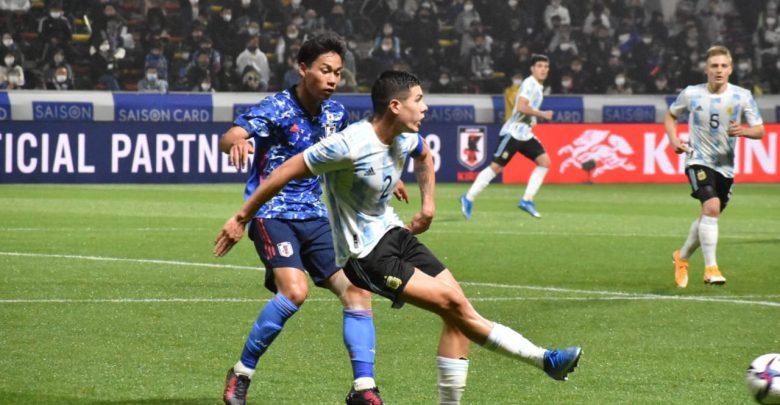 Dura derrota de la Selección Sub 23 en un amistoso ante Japón – Canal  Showsport