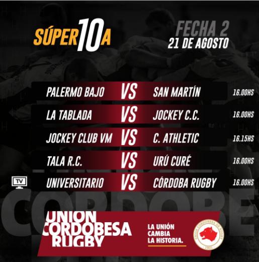 Súper 10: Universitario - Córdoba Rugby, en vivo por Showsport • Canal C