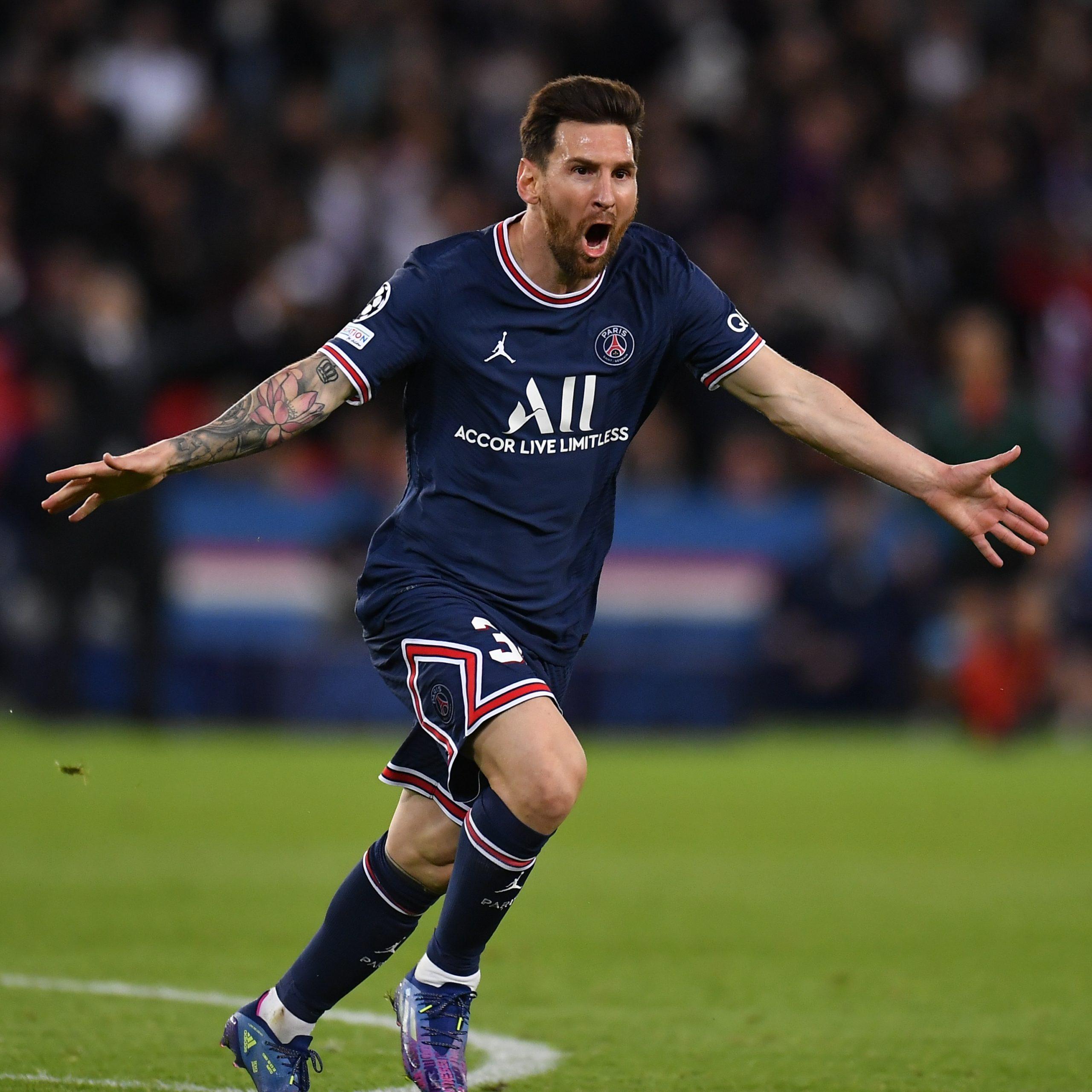 "Messi, tras convertir su primer gol con PSG: ""Tenía ganas, de a poquito me voy acostumbrando"" | Canal Showsport"