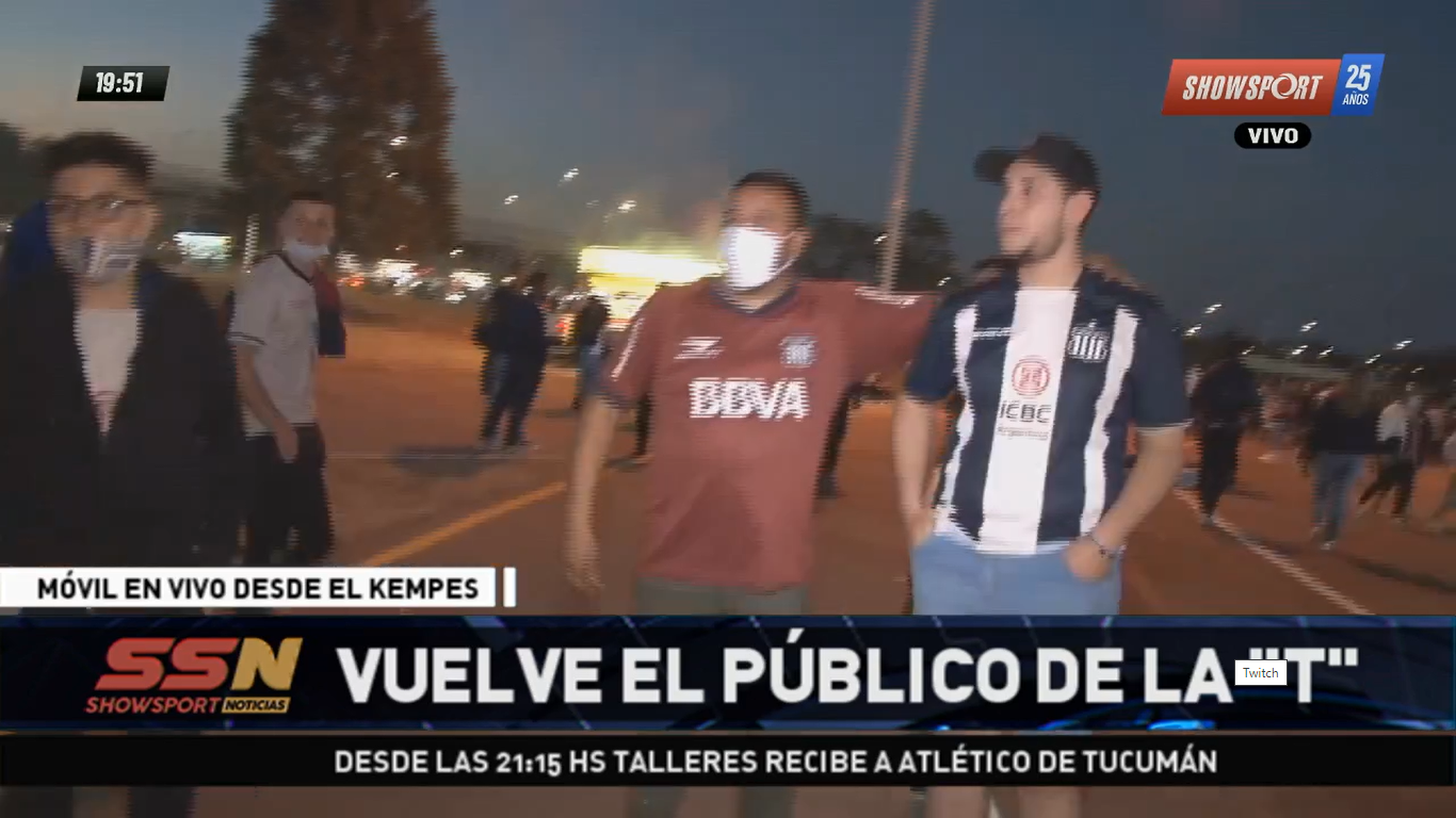 Toda la previa de Talleres - Atlético Tucumán, en vivo desde el Kempes por Showsport   Canal Showsport